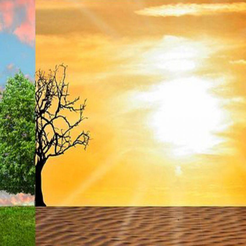 global warming in hindi